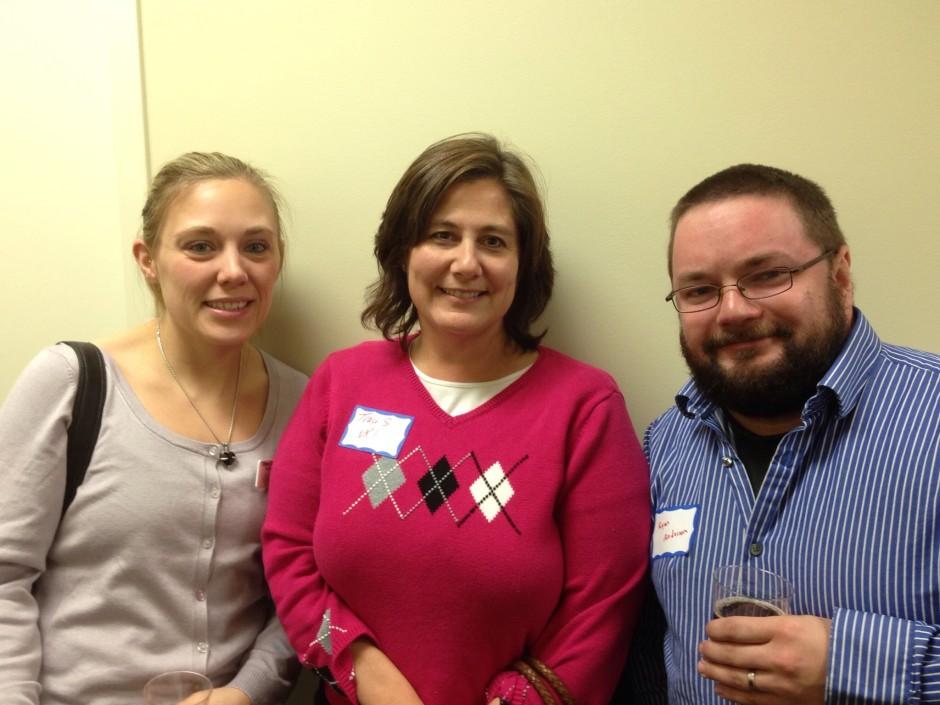 Tiffany Brotherson, Traci Shoemaker, and Ryan Anderson.