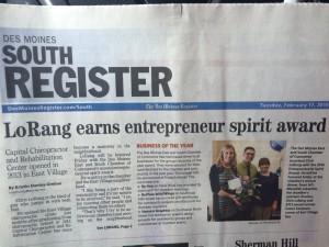 Entrepreneurial Spirit Award