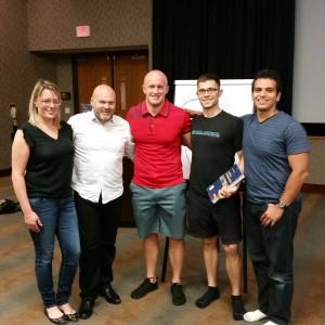 Zuzana Suzan, Pavel Kolar, Adam Sandmaier, Chris LoRang, and Artemio Del Real