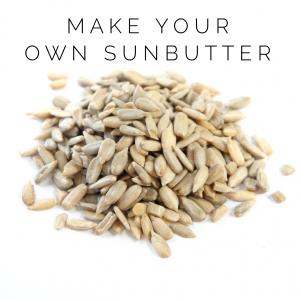 Sunbutter recipe