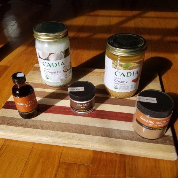 vanilla cocoa powder peanut butter