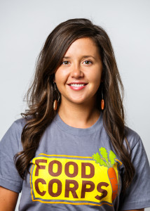 Chelsea Krist, organizer with FoodCorps Des Moines.