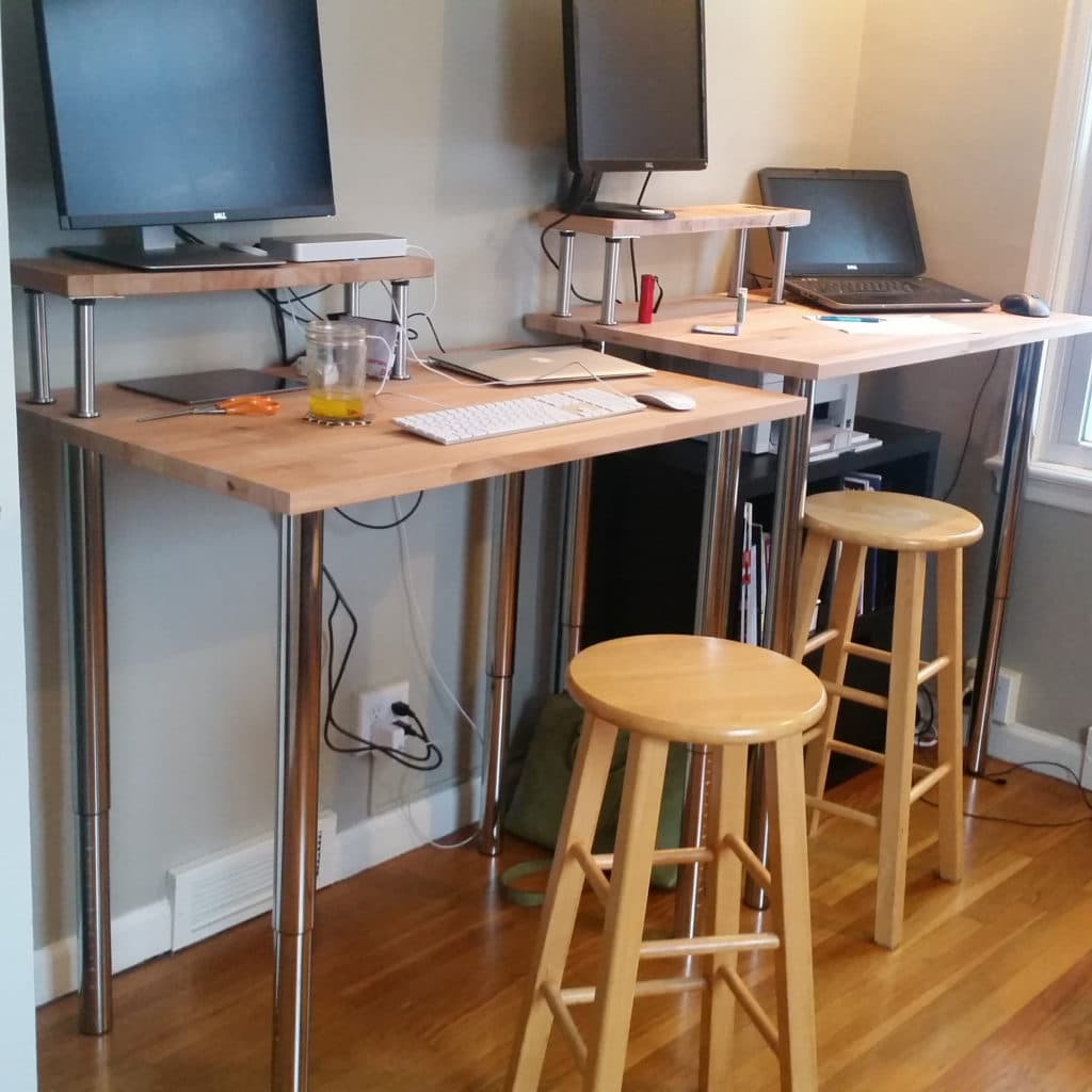 How To Build Your Own Standing Desk Capital Chiropractic