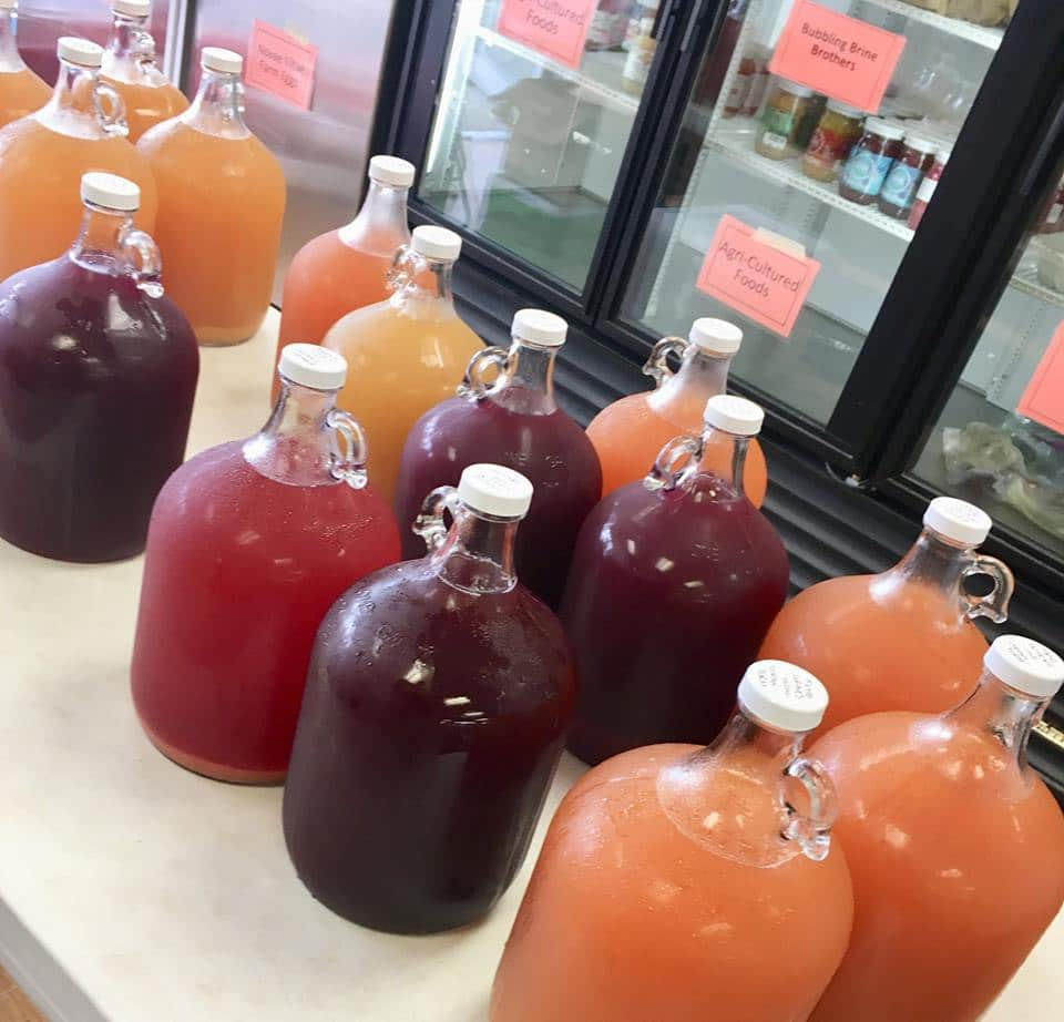 Iowa Food Cooperative Des Moines kombucha