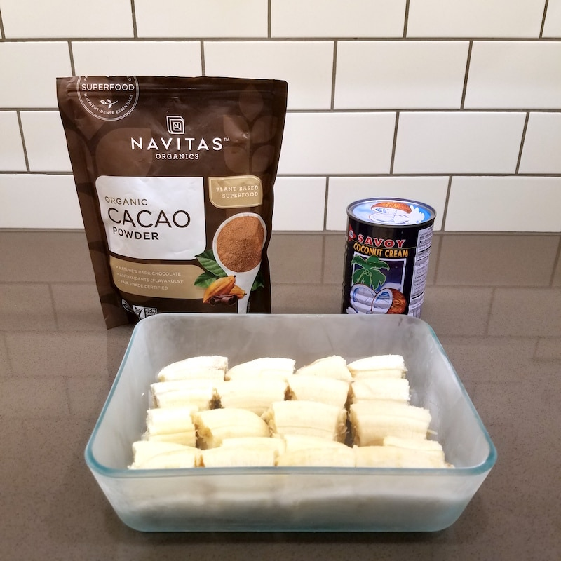 chocolate banana ice cream paleo whole30 recipe