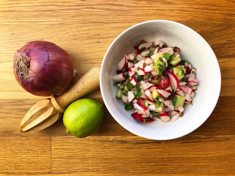 whole30 radish salsa