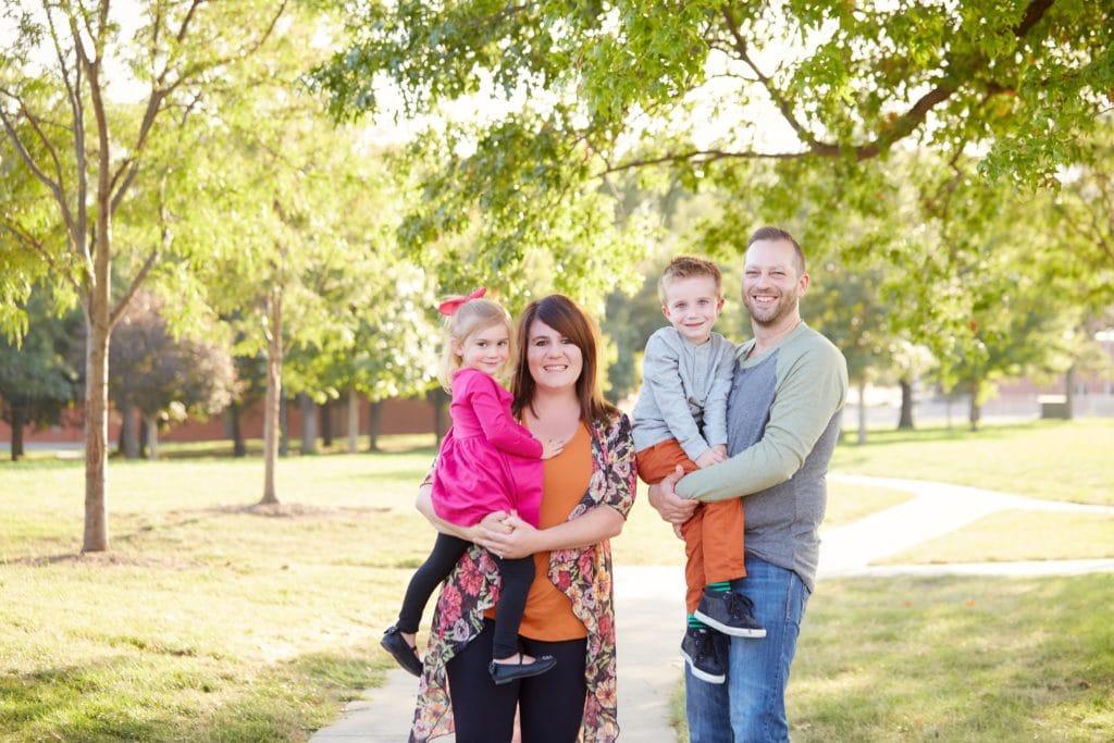 Erin Huiatt Family