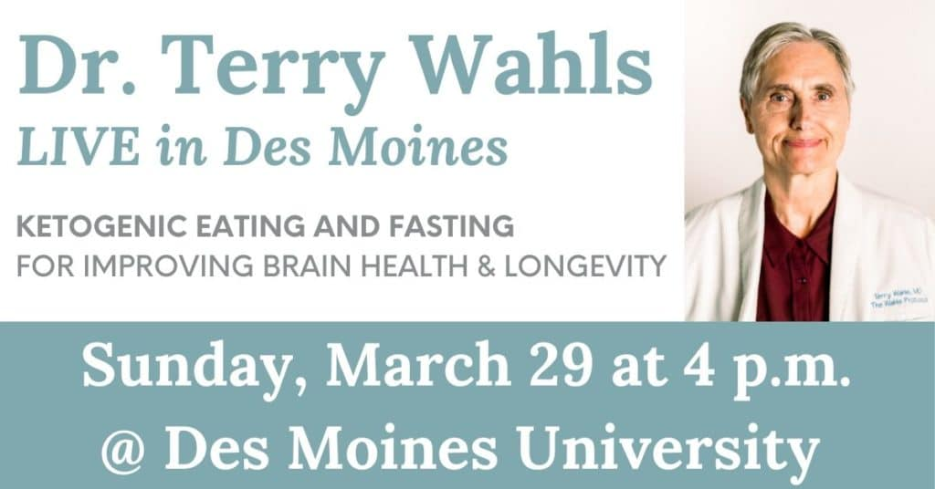 Terry Wahls LIVE in Des Moines